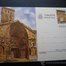 Sellos: TARJETA ENTERO POSTAL,IGLESIA DE SAN BARTOLOME,LOGROÑO,1980.. Lote 20230184
