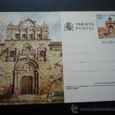 Sellos: TARJETA ENTERO POSTAL,HOSPITAL DE SANTA CRUZ,TOLEDO.1982.. Lote 20230553