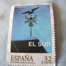 Sellos: SELLO -ESPAÑA- CINE ESPAÑOL EL SUR , CARTEL CRUZ NOVILLO 1997 USADO. Lote 190607752