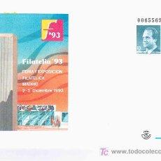 Sellos: ENTERO POSTAL TORRE PICASSO ARTE ARQUITECTURA PINTURA FILATELIA 93. Lote 20718456