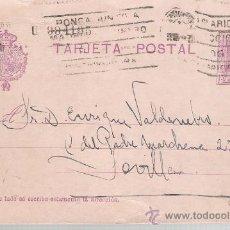 Sellos: ENTERO POSTAL DE MADRID A SEVILLA (15 CENTIMOS) MARZO 1926.. Lote 21321320
