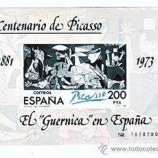Sellos: 1981 CENTENARIO DE PICASSO EL GUERNICA. Lote 22099705