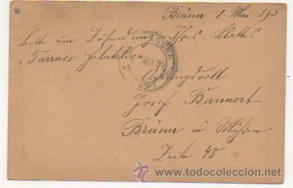 Sellos: 4 ENTEROS POSTALES ENVIADOS A TARRACO FILATELICO, RICARDO BESSES. 1895. - Foto 8 - 30790072