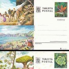 Sellos: ENTERO POSTAL EDIFIL 115/6, LAS PALMAS Y TENERIFE. Lote 56231909