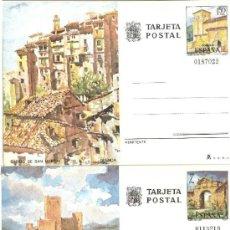 Selos: ESPAÑA TARJETAS POSTALES NUM. 111/112 ** NUEVAS SERIE COMPLETA. Lote 111319446
