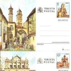 Selos: ESPAÑA TARJETAS POSTALES NUM. 127/128 ** NUEVAS SERIE COMPLETA. Lote 111319356