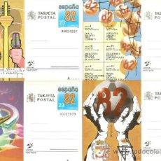 Selos: ESPAÑA TARJETAS POSTALES NUM. 129/132 ** NUEVAS SERIE COMPLETA. Lote 111319400