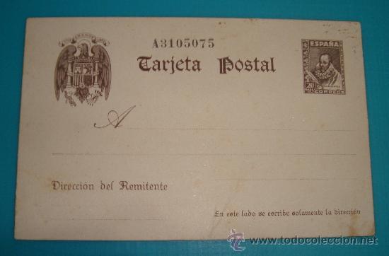 ENTERO POSTAL EDIFIL 86 DE 1938 - 1940 CERVANTES NUEVO SIN CIRCULAR (Sellos - España - Entero Postales)