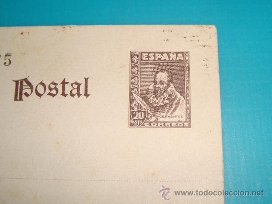 Sellos: ENTERO POSTAL EDIFIL 86 de 1938 - 1940 CERVANTES NUEVO SIN CIRCULAR - Foto 2 - 37611407