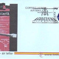 Sellos: ESPAÑA AEROGRAMA 221 - EX. ESPAMER Y AVIACÓN 1996. MAT. PDC PRIMER DIA CIRCULACIÓN. Lote 296033643