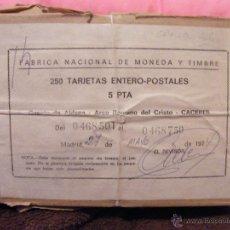 Sellos: PAQUETE ENTERO POSTALES. ENTERO POSTAL. 1974 EDIFIL 106. Lote 43740854