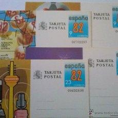 Sellos: ENTEROS POSTALES Nº 129-132 MUNDIAL FÚTBOL ESPAÑA 82 00702293. Lote 49543599