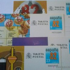 Sellos: ENTEROS POSTALES Nº 129-132 MUNDIAL FÚTBOL ESPAÑA 82 00703260. Lote 49543696