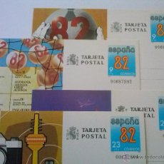 Sellos: ENTEROS POSTALES Nº 129-132 MUNDIAL FÚTBOL ESPAÑA 82 00687992. Lote 49543718