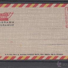 Sellos: ESPAÑA AEROGRAMA CON FRANQUEO MECANICO 143 TIPO VI NUEVO,. Lote 50223883