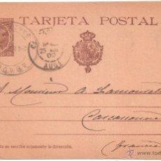 Sellos: ENTERO POSTAL SABADELL A FRANCIA 19OO. Lote 45987477