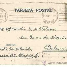 Sellos: MADRID. PALENCIA. 24 DE NOVIEMBRE DE 1949.. Lote 54267211