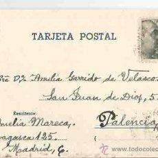 Sellos: MADRID. PALENCIA. 27 DE NOVIEMBRE DE 1949.. Lote 54267482