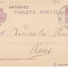 Sellos: ENTERO POSTAL ALFONSO XIII CAT.LAIZ NUM. 57N, CON MATASELLOS DE PIRA -TARRAGONA-. Lote 54591248