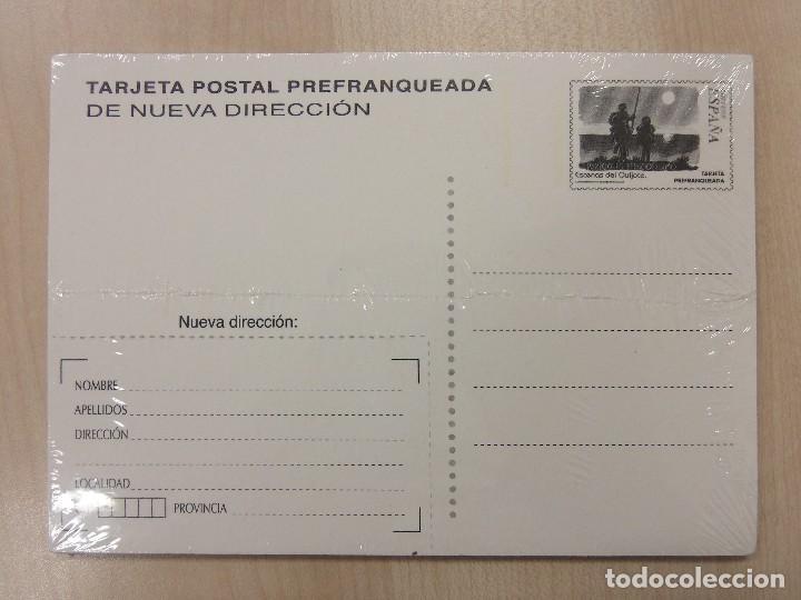 Sellos: CORREOS - TARJETA POSTAL PREFRANQUEADA - ESCENAS DEL QUIJOTE - 1 UNIDAD. - Foto 2 - 253956790