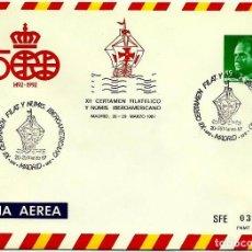 Sellos: ESPAÑA 1987-EDI 07(SOBRE ENTERO POSTAL)(20-MAR) MADRID MATASELLOS ESPECIAL IBEROAMERICANO. Lote 107753382
