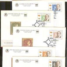 Sellos: SEP 60/64 FERIA SELLO 2000 MADRID.PRIMEROS SELLOS.MATASELLADO FERIA.. Lote 67867353