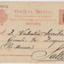Sellos: 53. ALFONSO XIII. BARCELONA A SALLENT. . Lote 69907565