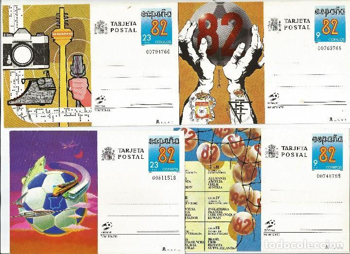ESPAÑA 1982 ENTEROS POSTALES.SERIE COMPLETA (Sellos - España - Entero Postales)