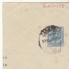 Sellos: PRIVADOS :FRAGMENTO 22. ALFONSO XIII (TIPO MEDALLÓN). A BARBASTRO (HUESCA).. Lote 73880995