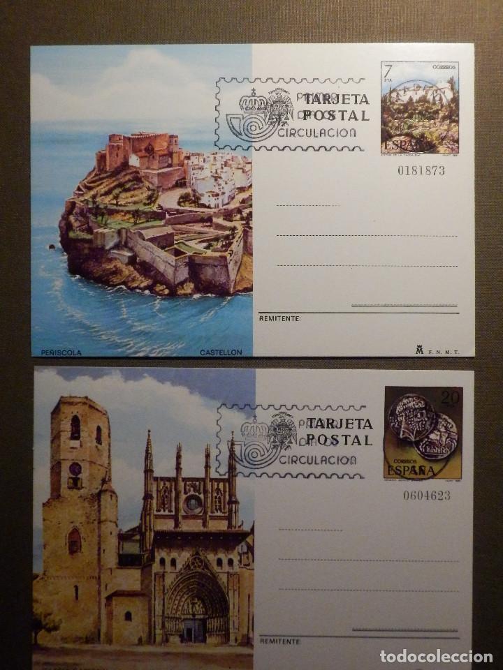 ESPAÑA -1981 - TURISMO - EDIFIL 125 Y 126 - ENTERO POSTAL PRIMER DÍA CIRCULACIÓN - SERIE DE 2 - (Sellos - España - Entero Postales)