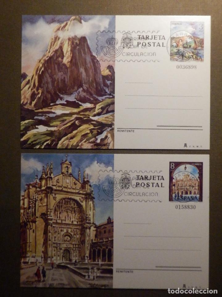ESPAÑA -1979 - TURISMO - EDIFIL 119 Y 120 - ENTERO POSTAL PRIMER DÍA CIRCULACIÓN - SERIE DE 2 - (Sellos - España - Entero Postales)