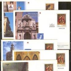 Sellos: SEP 55/56 ENTERO POSTAL CENTENARIO DE VELAZQUEZ 1999-4 SOBRES NUEVOS. Lote 78158613