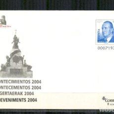 Francobolli: SEP 94 ENTERO POSTAL EXPO. EXFILNA 2004 ACONTECIMIENTOS VALLADOLID NUEVO. Lote 117513684
