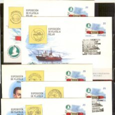 Stamps - SEP 49 ENTERO POSTAL EXPOSICION FILATELICA POLAR 98.MADRID 1998 (5) MATASELLADO FERIA - 87245716