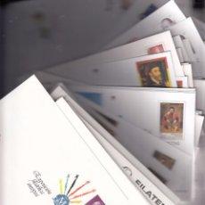Sellos: LOTE4 COLECCION CONJUNTO DE 122 SOBRES ENTEROS POSTALES AÑOS 1992 AL 2011 PRECIO CATALAGO 1123,50 . Lote 89416264