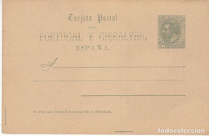 XX 13 : ALFONSO XII 1884 (Sellos - España - Entero Postales)