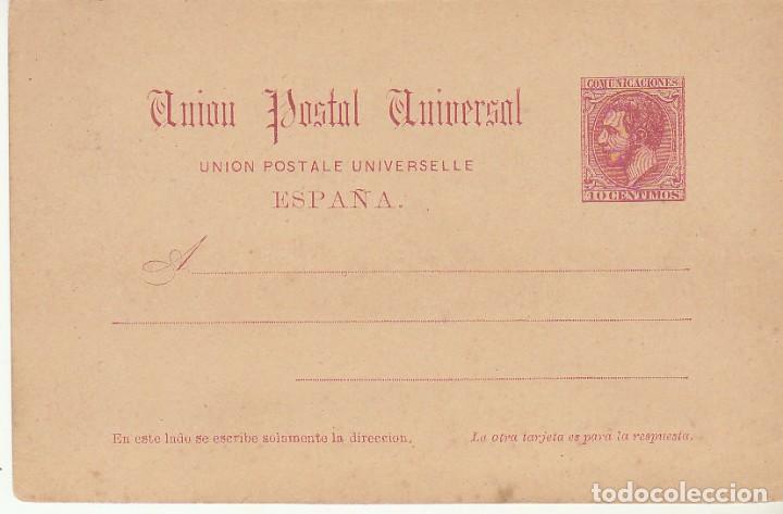 XX 17 : ALFONSO XII 1884 (Sellos - España - Entero Postales)
