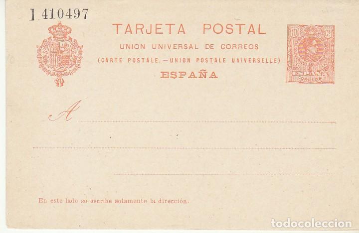 XX 53 : ALFONSO XIII. 1910. (Sellos - España - Entero Postales)