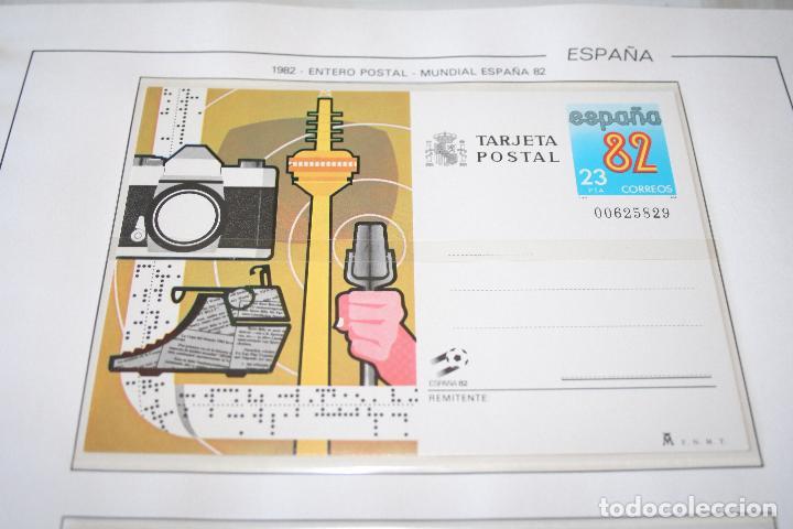MUNDIAL DE FUTBOL ESPAÑA 82 *** TARJETA POSTAL AÑO 1982 *** ESPAÑA *** NUEVA (Sellos - España - Entero Postales)