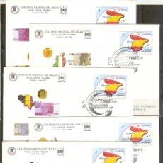 Stamps - SEP 54 ENTERO POSTAL PAISES DEL EURO 1999 FERIA SELLO MADRID 5 MATASELLADOS FERIA - 102016739