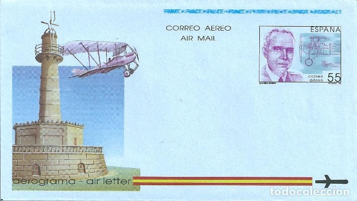 AEROGRAMA Nº 216 (EDIFIL) AÑO 1991 (Sellos - España - Entero Postales)