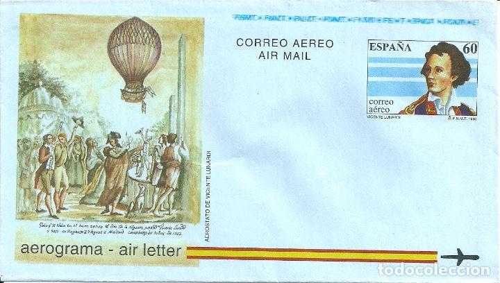 AEROGRAMA Nº 217 (EDIFIL) AÑO 1992 (Sellos - España - Entero Postales)
