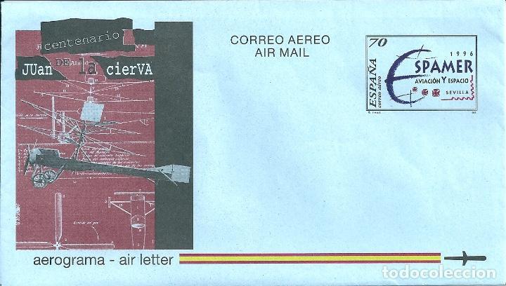 AEROGRAMA Nº 221 (EDIFIL) AÑO 1996 (Sellos - España - Entero Postales)