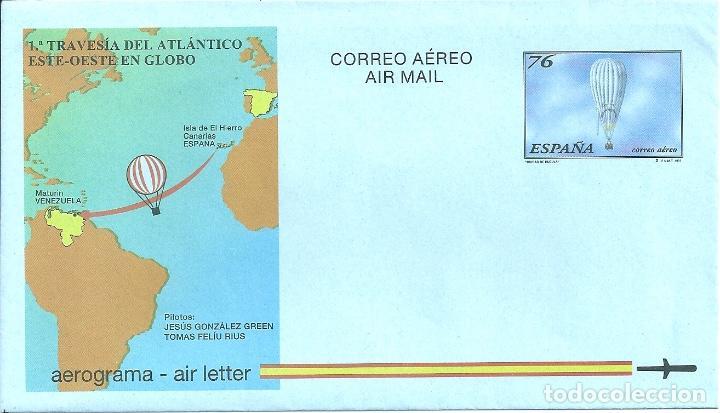 AEROGRAMA Nº 222 (EDIFIL) AÑO 1997 (Sellos - España - Entero Postales)