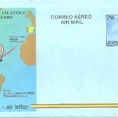 Sellos: AEROGRAMA Nº 222 (EDIFIL) AÑO 1997. Lote 111625079