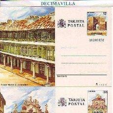Sellos: TARJETA ENTERO POSTAL EDIFIL 141/42. SIN CIRCULAR. AÑO 1986. TURISMO. Lote 112834799