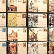 Sellos: LOTE 27 ENTEROS TARJETA POSTAL ESPAÑA VER TODOS EN FOTOGRAFIAS. Lote 113994419