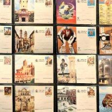 Sellos: LOTE 19 ENTEROS TARJETA POSTAL ESPAÑA VER TODOS EN FOTOGRAFIAS. Lote 113994707