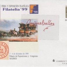 Timbres: SOBRES ENTEROS POSTALES ESPAÑA 1999 ED Nº 57 -EXPOSICIÓN FILATELIA 99 - SOBRE ENTERO . Lote 114514287