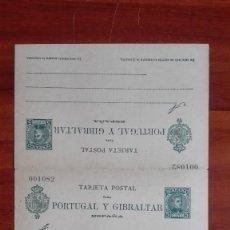 Stamps - España Enteropostal Edifil 44 Alfonso XIII ida y vuelta quinta serie Tipo Cadete 1903 - 116060395